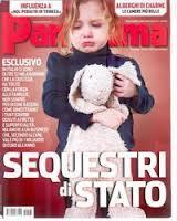 "Copertina di Panorama sui ""sequestri di Stato"""