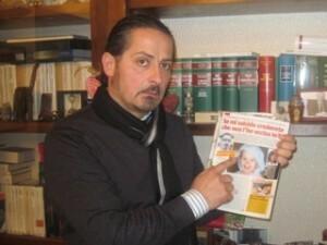 Antonio Cangialosi (foto anticipata dal settimanale Visto)