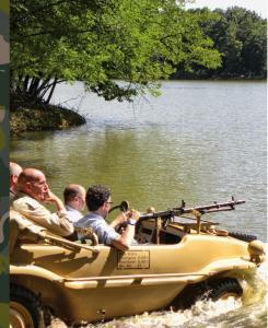 Schwimmwagen, l'auto che nuota