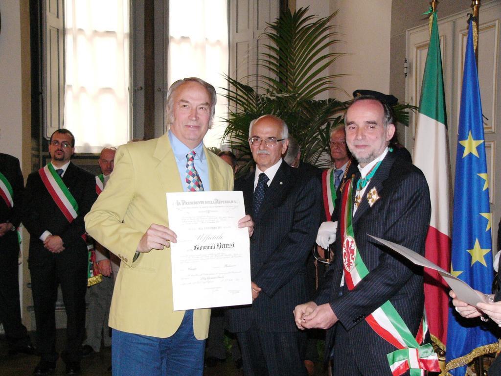 L'ex biscazziere Giovanni Bruzzi diventa Cavaliere della Repubblica per meriti artistici