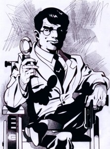 MISTER NOIR (disegno di Marco Giannuli)