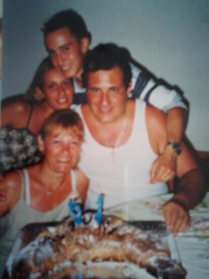 La famiglia Cucchi (Facebook)