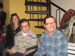 iO con SIMONA e ANDREA CARLO CAPPI (Sabato 07-03-2009)