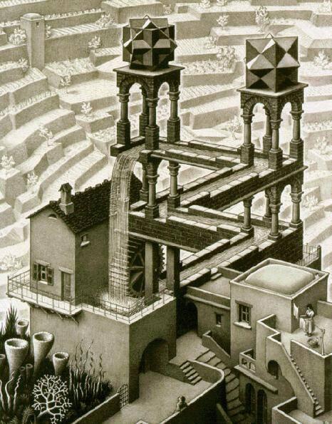 16 08 17 Escher_Waterfall