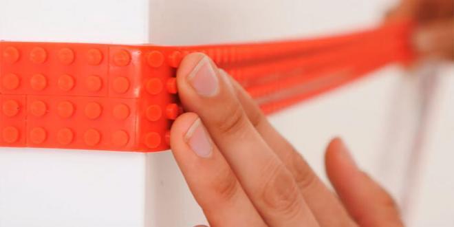 Arriva Nimuno, il nastro adesivo per i Lego: ora puoi attaccarli ovunque!