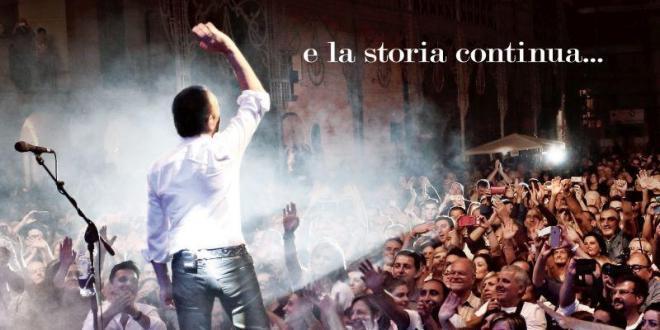 """""""E LA STORIA CONTINUA"""": in arrivo il primo album live di DODI BATTAGLIA!"""